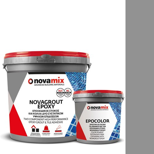 Στόκος Epoxy Argento No 11 NOVAGROUT