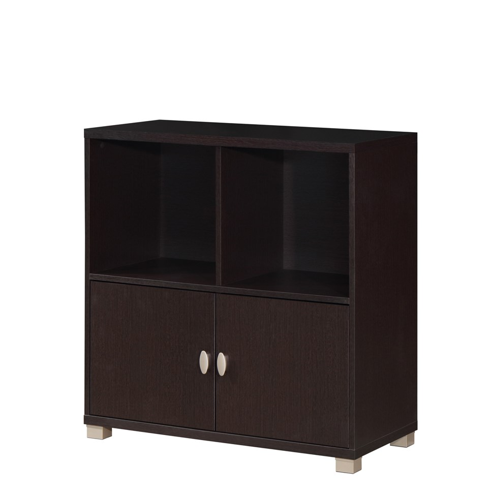 Paolo Open Low Cabinet Wenge